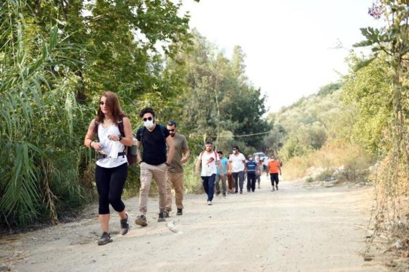 Doğa yürüyüşüne vatandaşlardan büyük ilgi