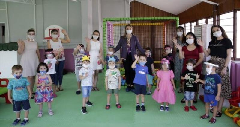 Büyükşehir Belediyesi Yenigün Kreşi açıldı