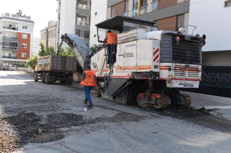 Gebizli'de asfalt çalışmaları başladı