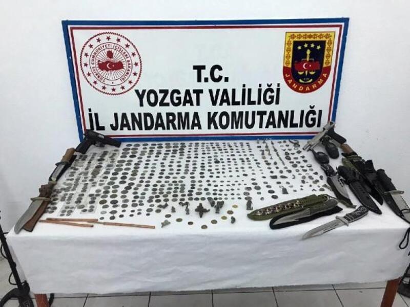 Yozgat'ta tarihi eser operasyonu: 1 gözaltı