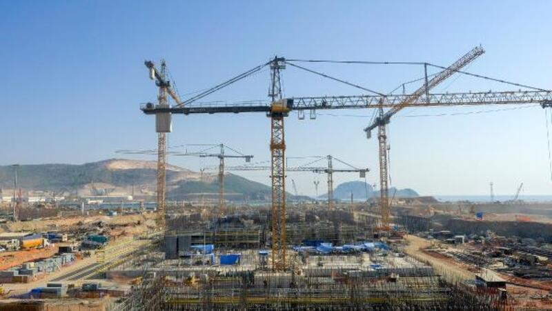 Akkuyu NGS'nin 2'nci güç ünitesinde iki binanın temel atma çalışmaları tamamlandı