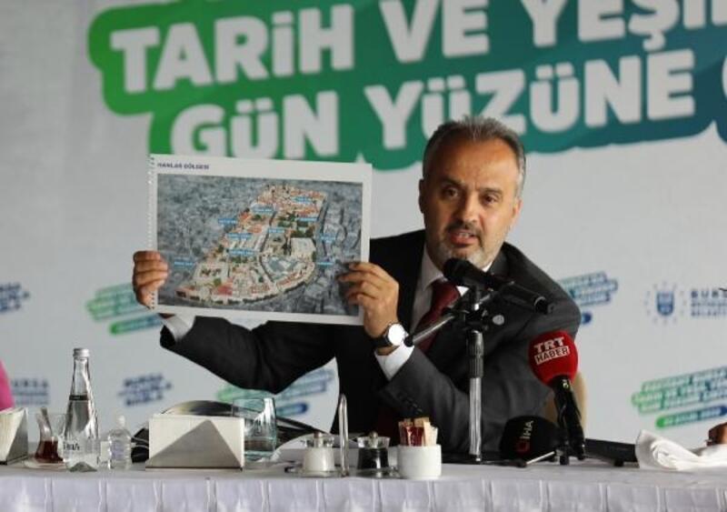 Bursa tarihi dokusu ile yeniden 'Yeşil Bursa' oluyor