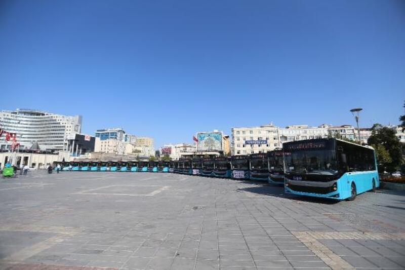Büyükşehir'in ulaşım filosuna 24 yeni otobüs daha dahil edildi
