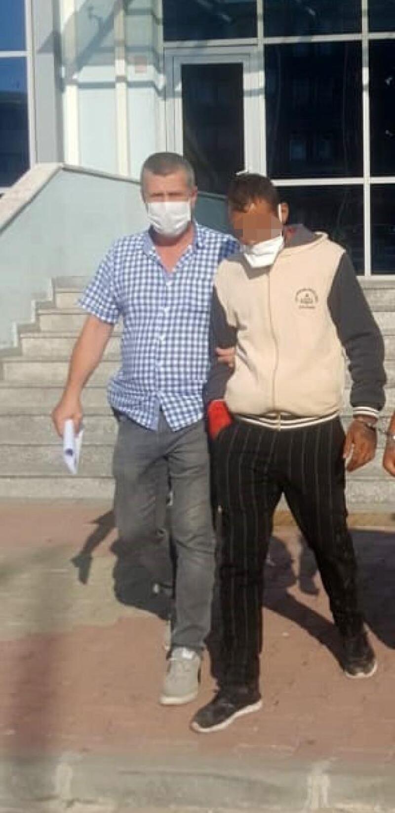 Keşan'da, 'silahlı tehdit' şüphelisine tutuklama