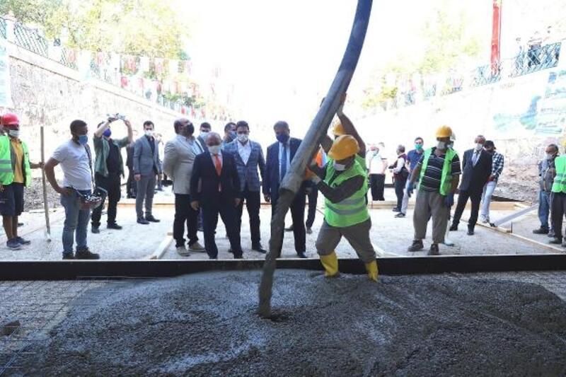 Çankırı'da Tatlıçay Islah Projesi'nin temeli törenle atıldı