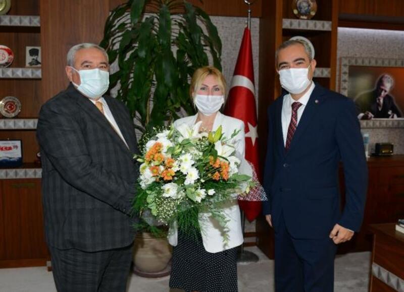 ATSO'dan Rektör Özkan'a hayırlı olsun ziyareti