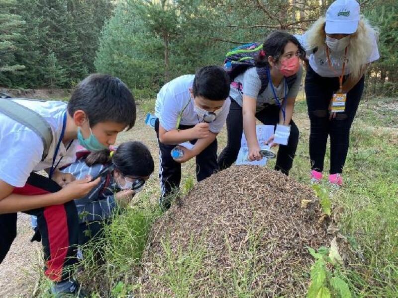 OGM'nin desteğiyle çocuklar doğa ile buluştu