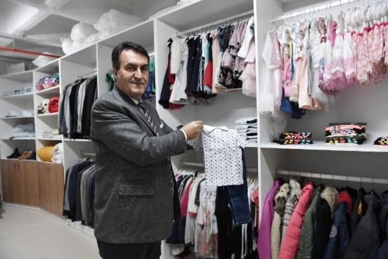 Osmangazi Belediyesi'nden kıyafet yardımı