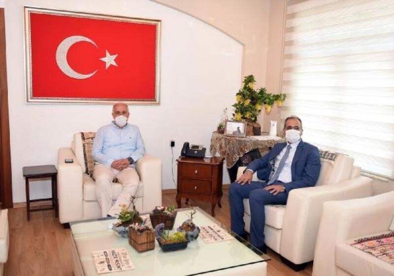 Başkan Bozdoğan'a Başkan Gültak'tan ziyaret