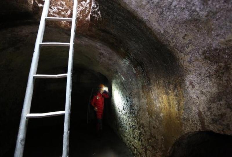 Ayasofya'da yer altı yapıları keşfedildi