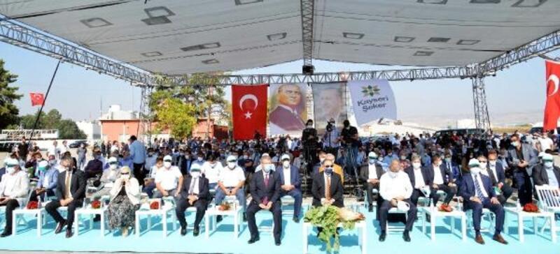 Kayseri Şeker Fabrikası'nda 66'ncı pancar alım kampanyası başladı
