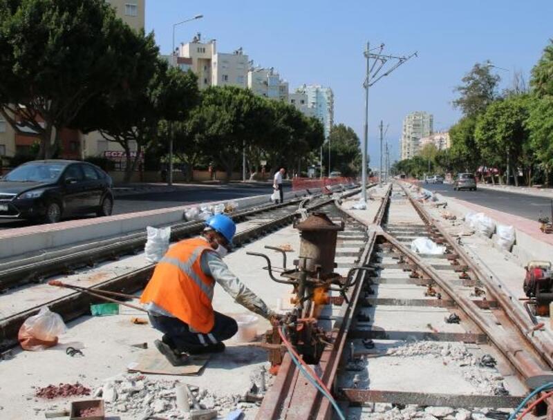 Otogar Kavşağı'nda tünel çalışması