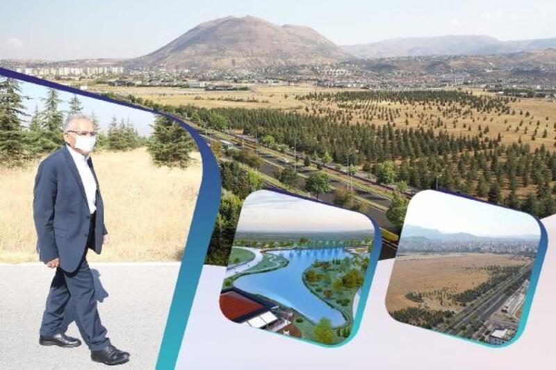 Recep Tayyip Erdoğan Millet Bahçesi'nde çalışmalara başlandı