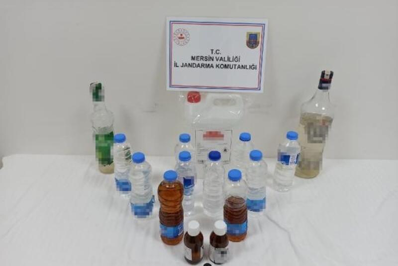 Sahte içki üretimine gözaltı
