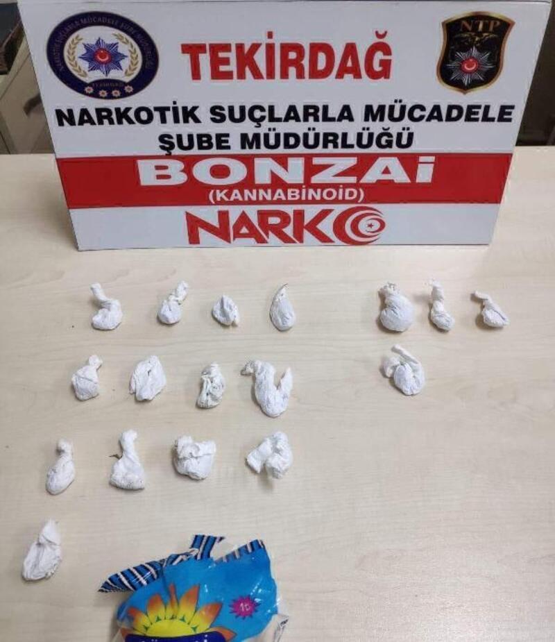 Tekirdağ'da uyuşturucu operasyonları: 5 gözaltı