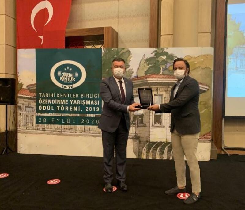 Tarihi Kentler Birliği'nden Kocasinan'a 3 ödül