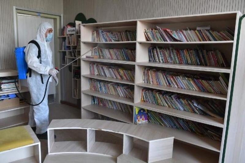 Yenişehir'de dezenfeksiyon çalışmaları devam ediyor