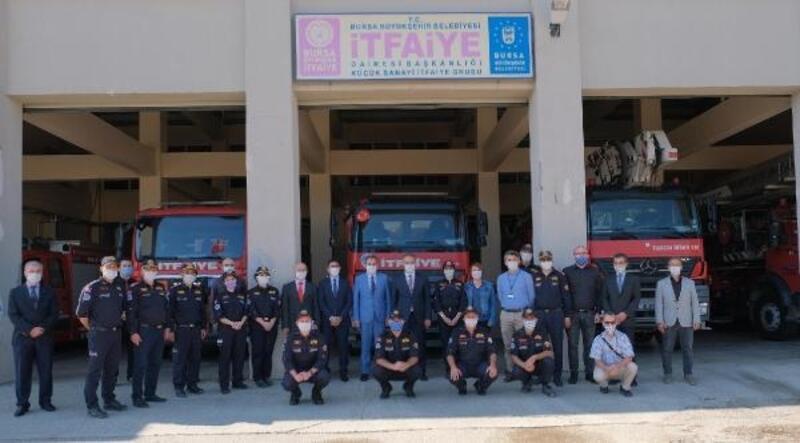 Büyükşehir Belediye Başkanı Aktaş, itfaiye personelleriyle buluştu