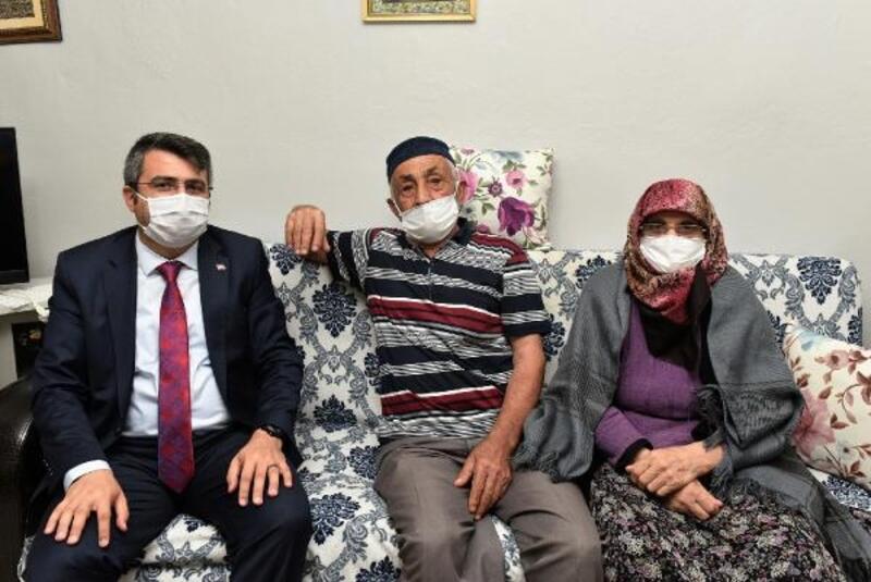 Yıldırım Belediye Başkanı Yılmaz'dan ev ziyaretleri