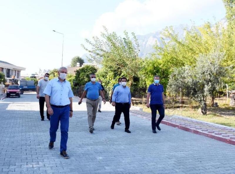 Göynük'te çalışmalar hız kesmiyor
