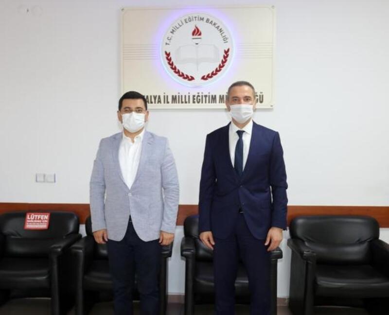 Başkan Tütüncü'den İl Milli Eğitim Müdürü Er'e ziyaret