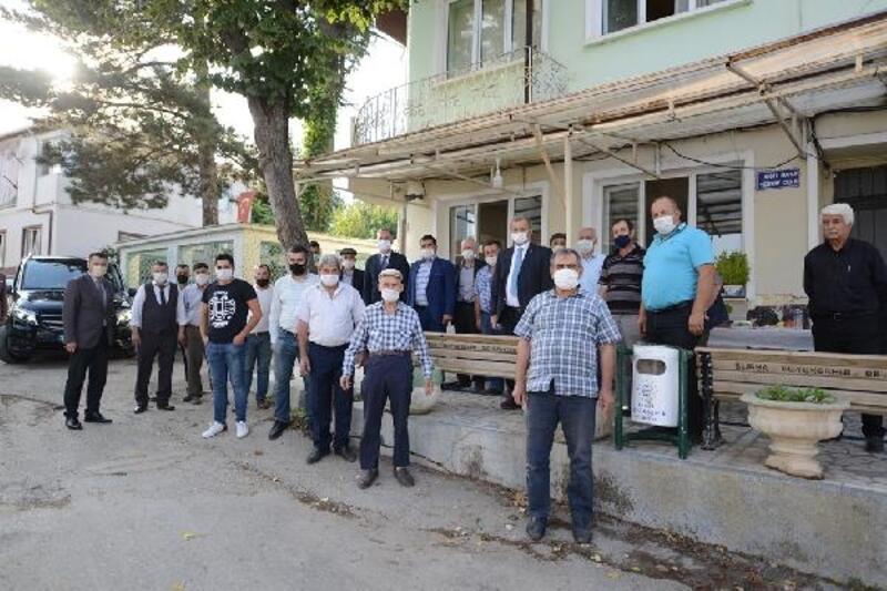 İnegöl Belediye Başkanı Taban'dan kırsal mahallelere ziyaret