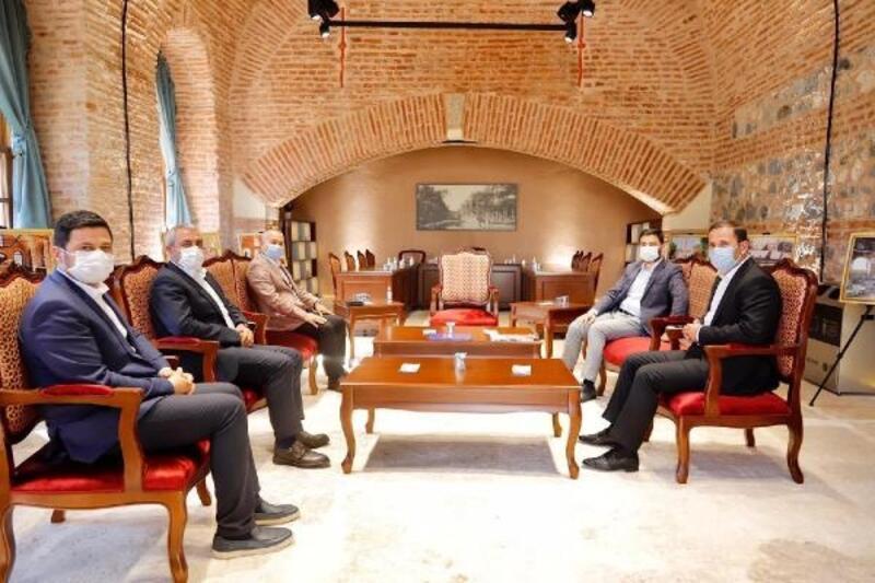 Anadolu şehirlerinden başkanlar Kağıthane'de