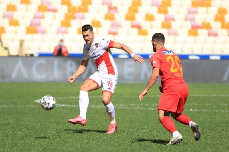 Yeni Malatyaspor - Fraport TAV Antalyaspor: 1-0