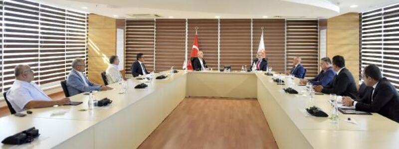 Antalya OSB, Halkbank başkanını misafir etti