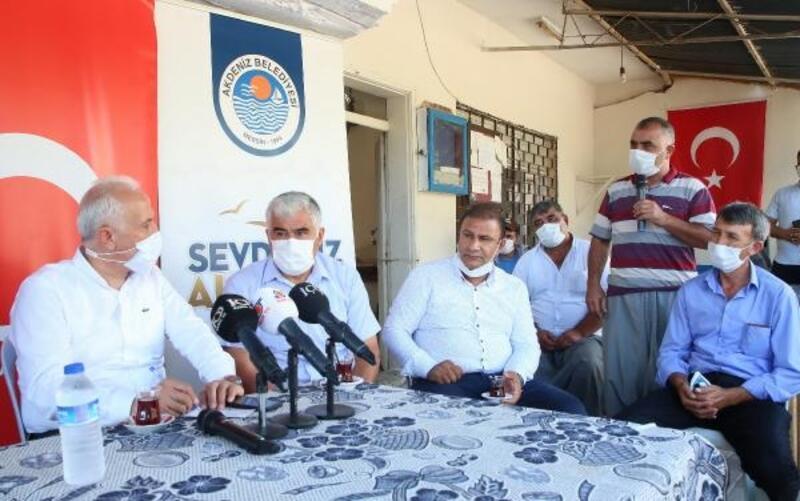 Başkan Gültak'dan Akdeniz'in kırsal mahallelerini ziyareti