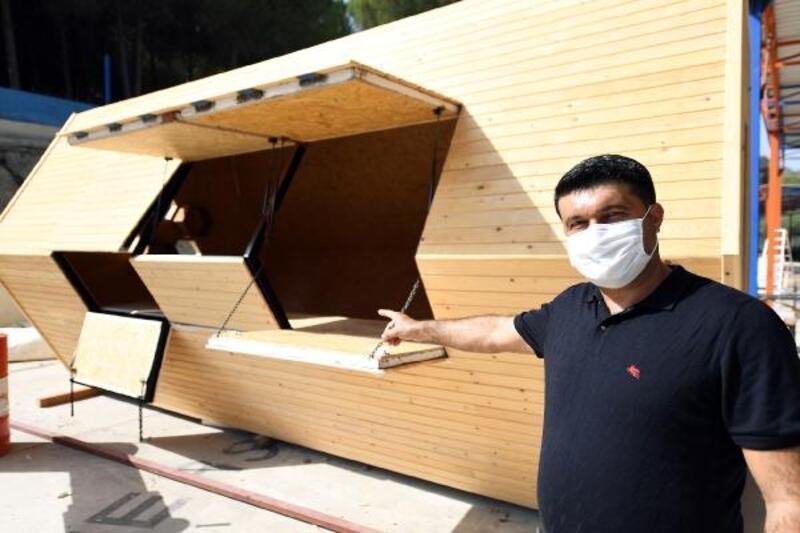 Bal üreticisine özel bal evi
