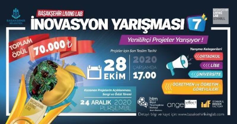 Başakşehir'de yenilikçi fikirler 7'nci kez yarışacak