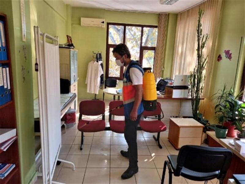 Osmangazi'de dezenfekte seferberliği