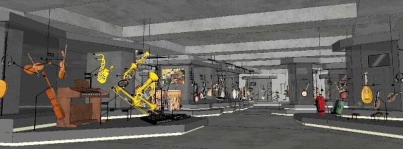 Müzik Müzesi'nin aralık ayında açılması bekleniyor