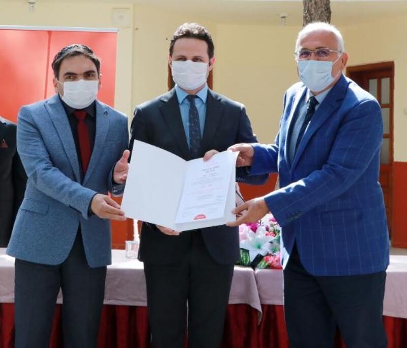 Burdur'da 'Okulum Temiz Belgesi' töreni