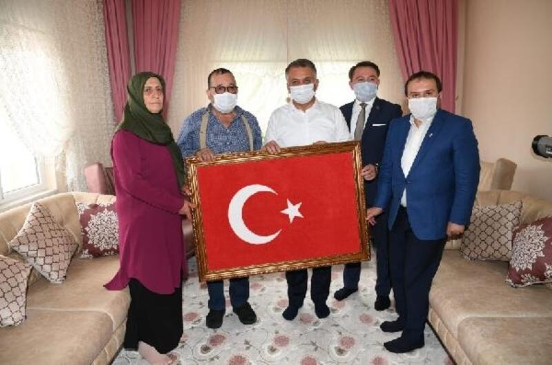 Vali Yazıcı'dan Akseki ziyareti