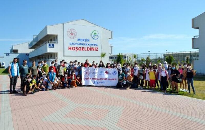 Mersin'de Spor ile Sosyal Uyum Kampı sona erdi