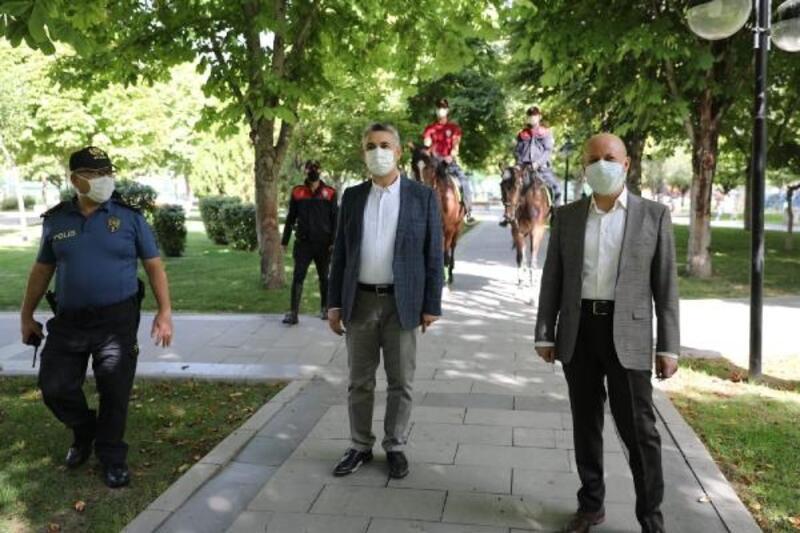 Başkan Çolakbayrakdar'dan maske denetimi