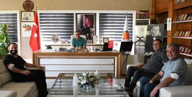 'Eyvah Tatil' filmi Kemer'de çekiliyor
