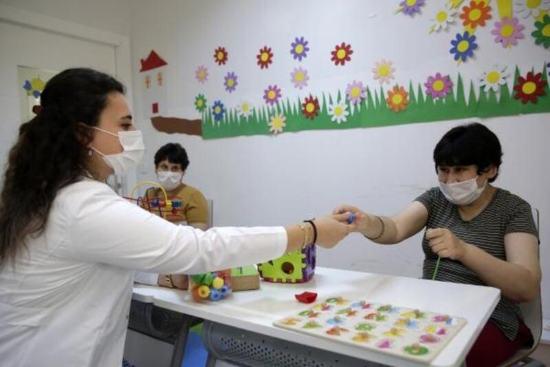 Engelli Mola Evleri pandemi önlemleri ile yeniden açıldı
