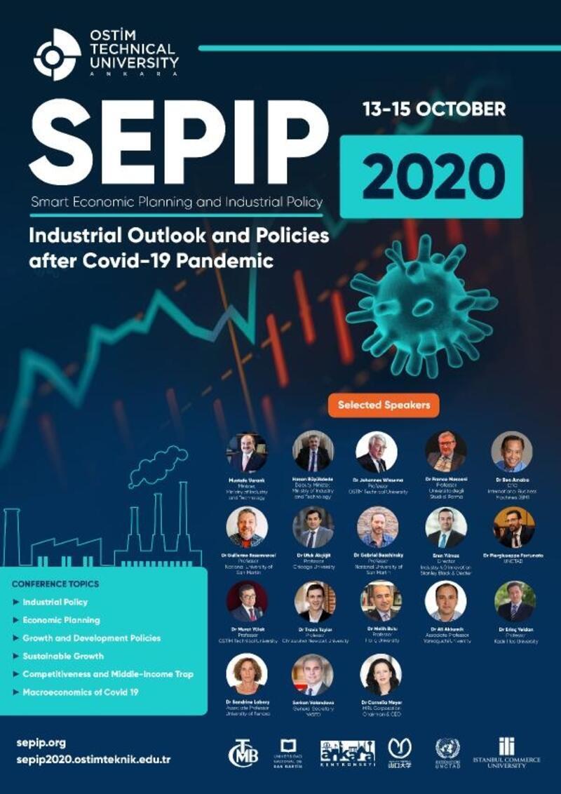 Covid-19'un sanayiye etkileri, SEPIP 2020 Konferansı'nda konuşulacak