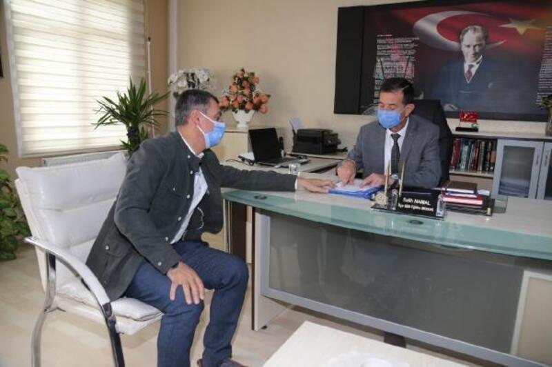 Başkan Şimşek'ten, okullara temizlik malzemesi yardımı