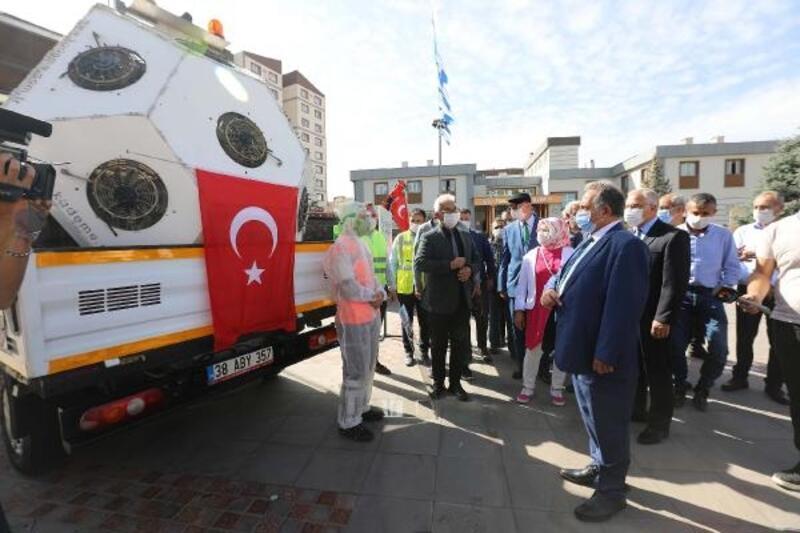 Talas Belediyesi'nde araç filosu genişletildi