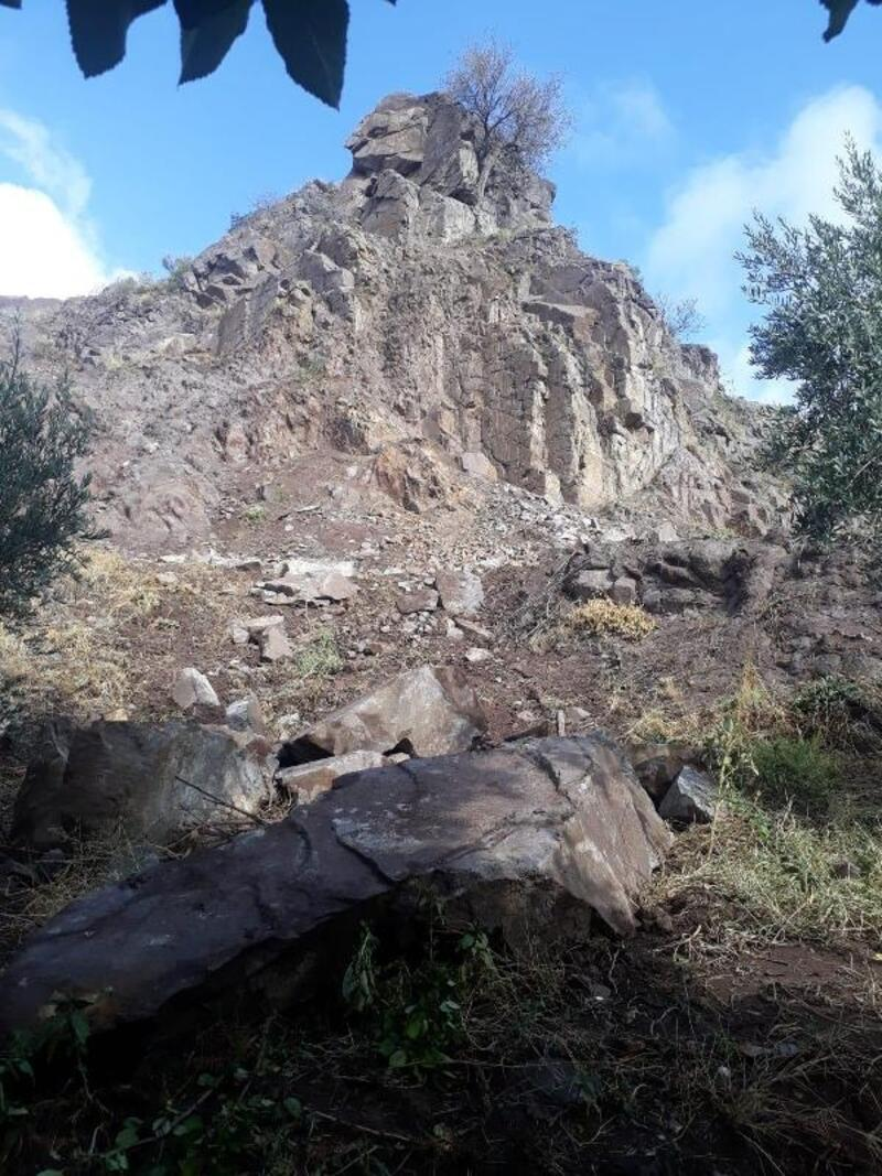 Eskişehir'de toprak kayması