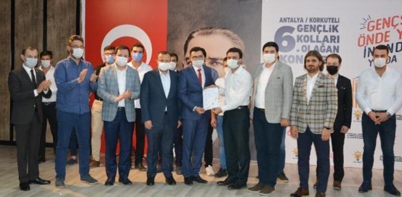 AK Parti Korkuteli Gençlik Kolları'nda seçim
