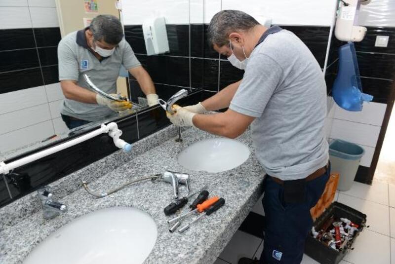 Büyükşehir muslukları yeniliyor