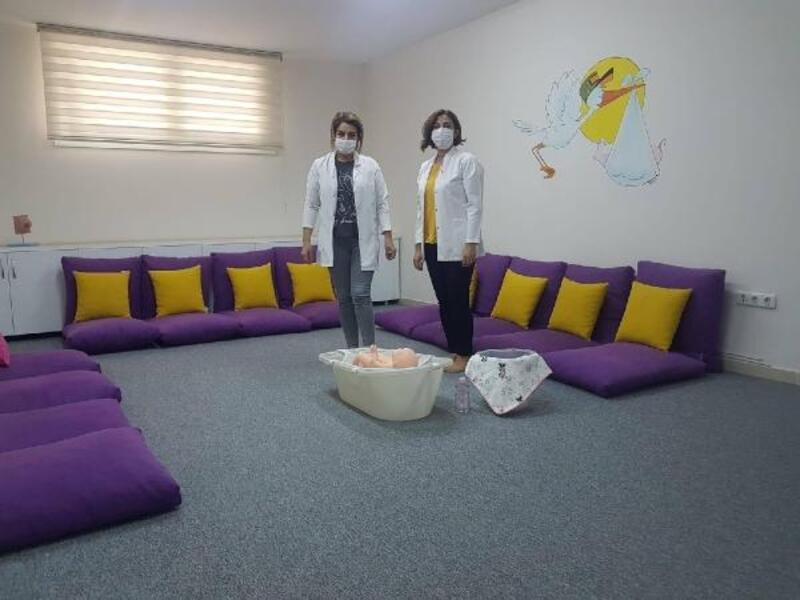 Sağlıklı Hayat Merkezi'nde gebe sınıfı