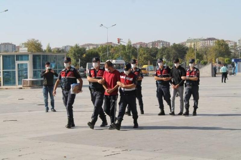 Kayseri'de hırsızlık şüphelisi 2 kişi yakalandı
