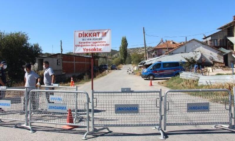 Bucak'ta 1 köy karantinaya alındı