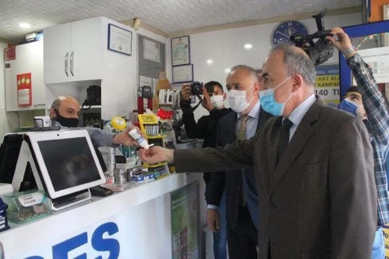 Vali Erol, denetlemelere Çiftlikköy'de devam etti